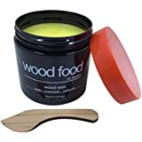 Wood Food Wax - Protection for Cutting Boards, Furniture, Flooring, Toys & Salad Bowls (Blood Orange, 180ML)