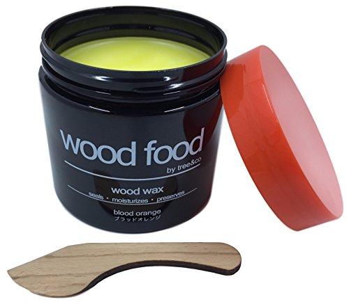 "RoomClip商品情報 - ""Wood Food"" 天然艶出し蜜蝋ワックス (ブラッドオレンジ, 180ML)"