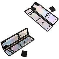 Homyl 2個入り ダーツフライト シャフトヒント 収納ケース コレクションボックス 簡単保管 ダーツアクセサリー