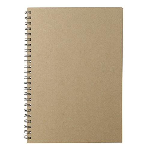 無印良品 再生紙クラフトデスクノート(スケジュール)・マンス 5276325 良品計画