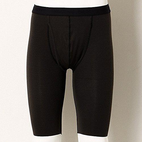 와코르 멘(WACOAL MEN) [박경난NUDY(R)]무릎상 장bottom- (Size:Large|Color:BL블랙)