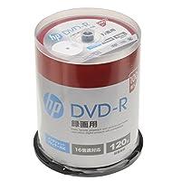 hp(ヒューレット・パッカード) 録画用DVD-Rホワイト・ディスク(SPケース) 100枚