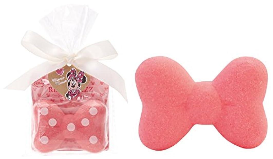 拡張混乱させる没頭するディズニー 入浴剤 ミニーマウス リボン バスフィズ 30g ロマンスローズの香り DIP-82-01