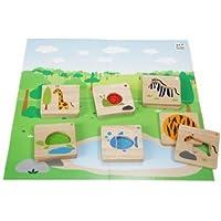 Plan Toys Planpreschool Animal Mix N ' Match by PlanToys