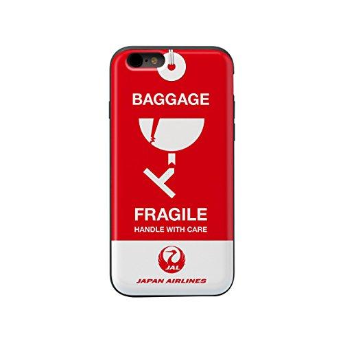 [JALオリジナル] iPhone7、iPhone8 ICカード収納付ケース (タグFRAGILE)...