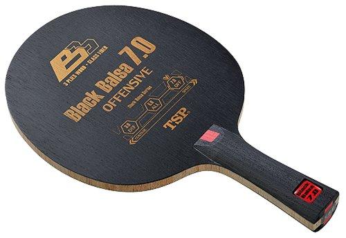 ティーエスピー(TSP) 卓球 ラケット ブラックバルサ7.0 グリップFL 026294