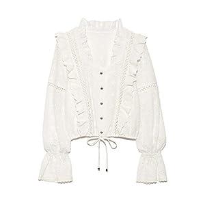 (リリーブラウン)Lily Brown cotton刺繍ブラウス LWFT181115 2 OWHT F
