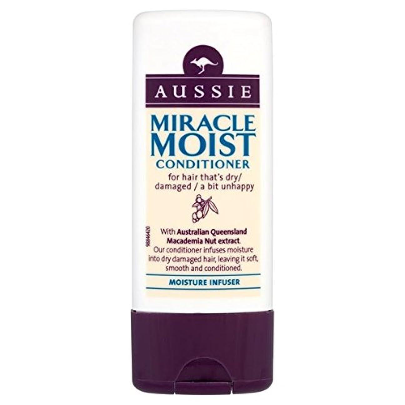 上下する味残酷オージー奇跡湿った旅行コンディショナー75ミリリットル x4 - Aussie Miracle Moist Travel Conditioner 75ml (Pack of 4) [並行輸入品]