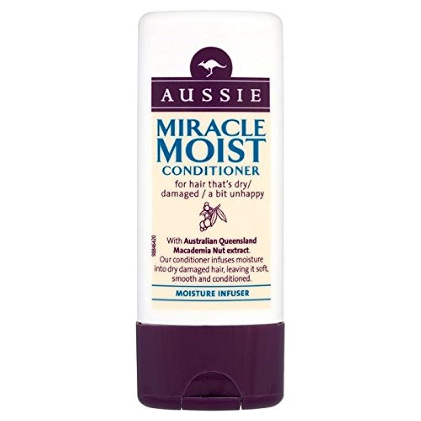 スリーブスラダム神社Aussie Miracle Moist Travel Conditioner 75ml - オージー奇跡湿った旅行コンディショナー75ミリリットル [並行輸入品]