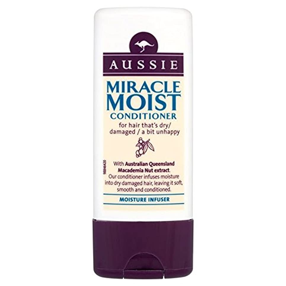 メダル蒸し器北西Aussie Miracle Moist Travel Conditioner 75ml - オージー奇跡湿った旅行コンディショナー75ミリリットル [並行輸入品]