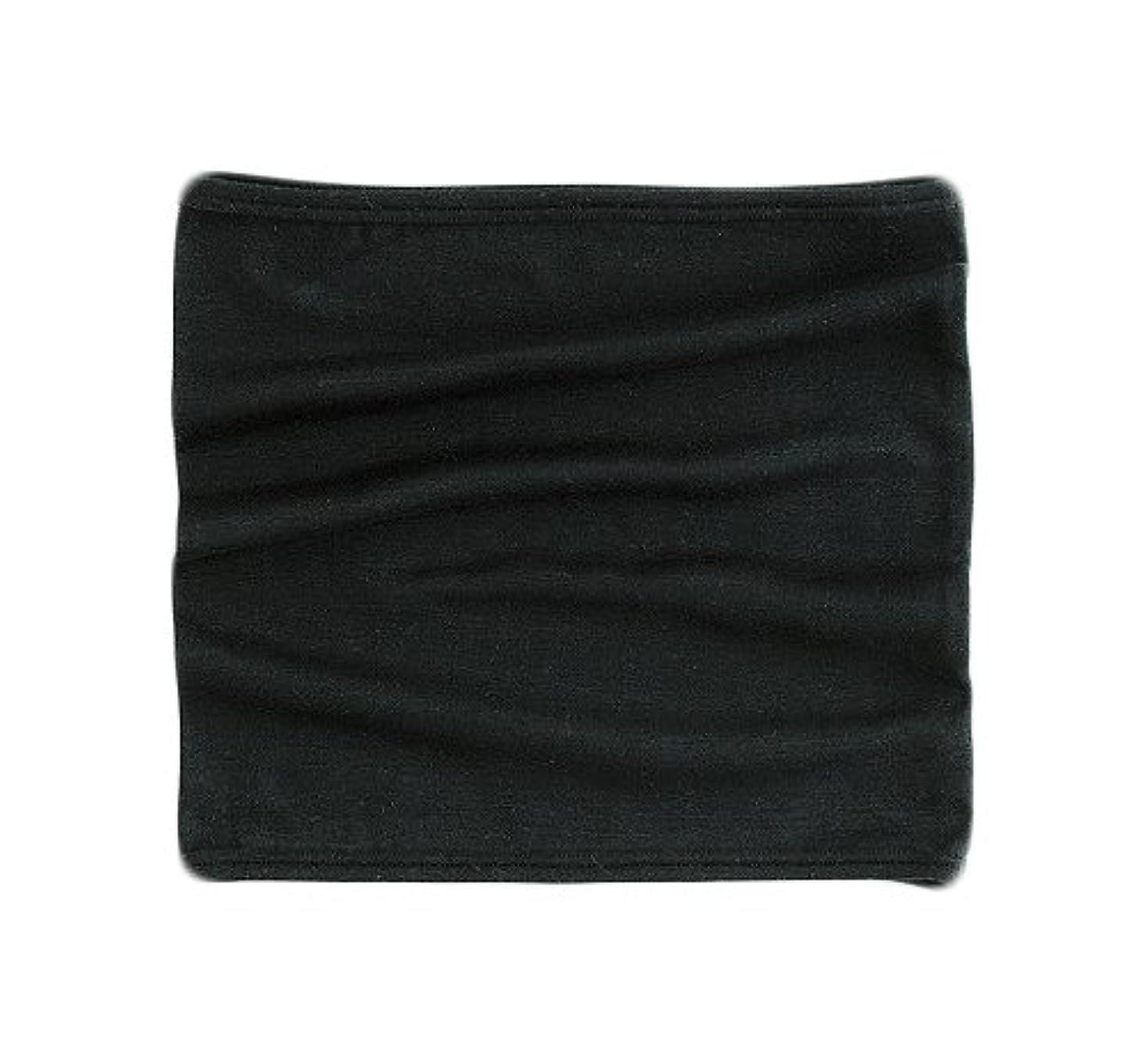 ズームスケート不従順おたふく手袋 ボディータフネス 発熱?保温 テックサーモ ウエストウォーマー 腹巻 ブラック JW-119