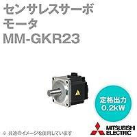 三菱電機 MM-GKR23 センサレスサーボ モータ (定格出力:0.2kW) (定格回転速度:3000r/min) NN