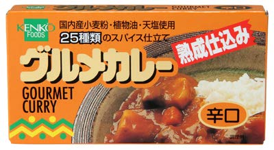 健康フーズのグルメカレールウ(辛口)120g×6個 JAN: 4973044100042