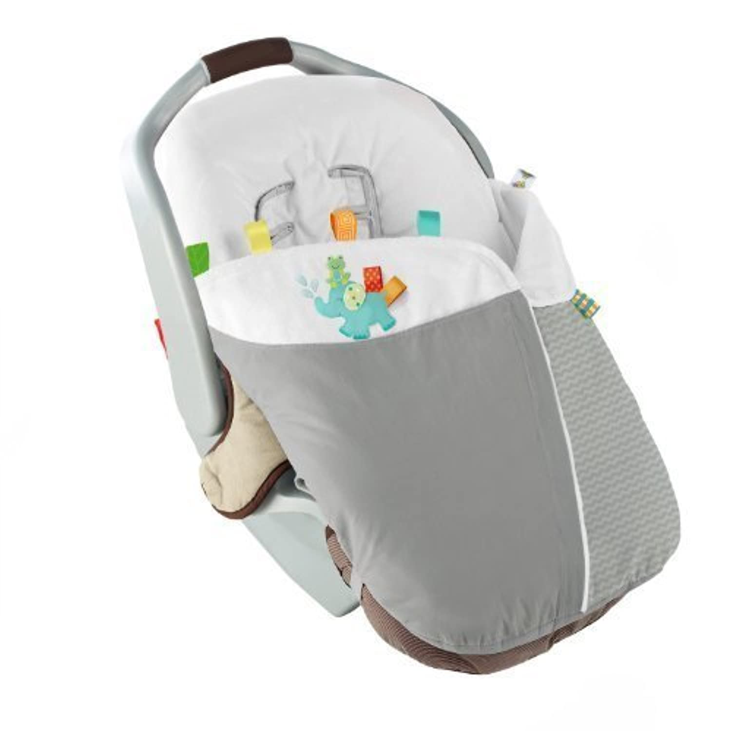 Taggies Tag Snuggle N Stroll Carrier Blanket, Neutral (Discontinued by Manufacturer) by Taggies [並行輸入品]