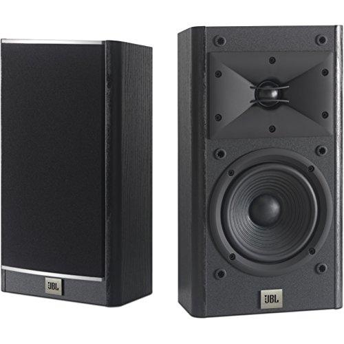 """JBL Arena 120 5-1/2"""" 2-Way Bookshelf Speaker Pair Black [並行輸入品]"""