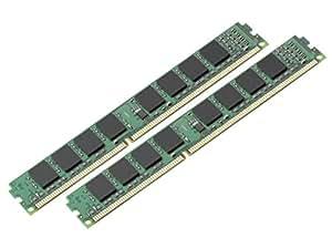キングストン Kingston デスクトップPC メモリ DDR3 1333 (PC3-10600) 4GBx2枚 CL9 1.5V Non-ECC DIMM 240pin KVR13N9S8K2/8 永久保証