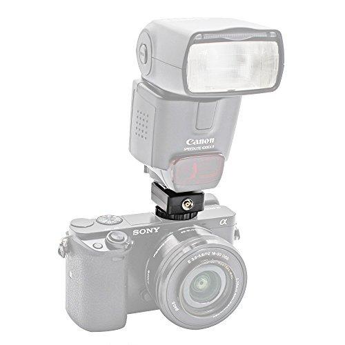 Foto & Tech Flash Hot Shoe Adapter変換Sony a7iii/a9?/a99?II/a7r II/a7?II/a7?/a7r/a7s II/a7s/a6500?/a6300?/a6000?to Canonスピードライト90e