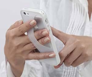 iPhone5ケース らくらくサスペンダー for  iPhone5 (ホワイト)