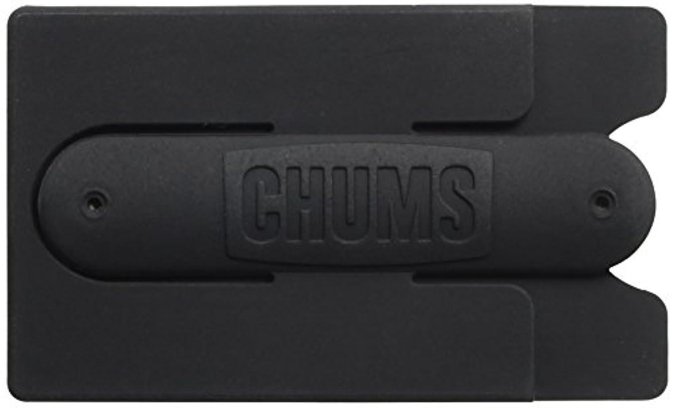 新着に頼る広大なチャムス(チャムス) フロッパー PHONE WALLET CH61-1083 Black