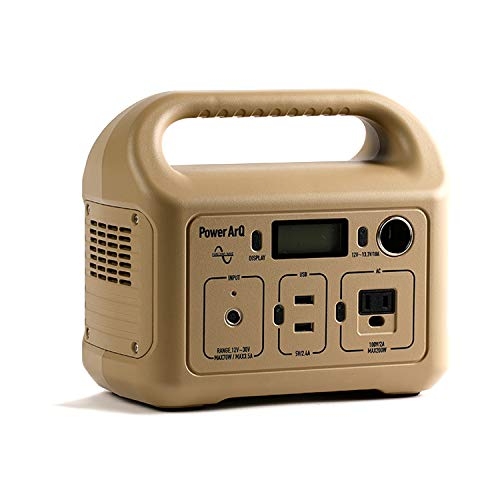 SmartTap ポータブル電源 PowerArQ mini コヨーテ タン (311Wh / 86,400mAh / 3.6V / 正弦波) 正規保証1年 ...