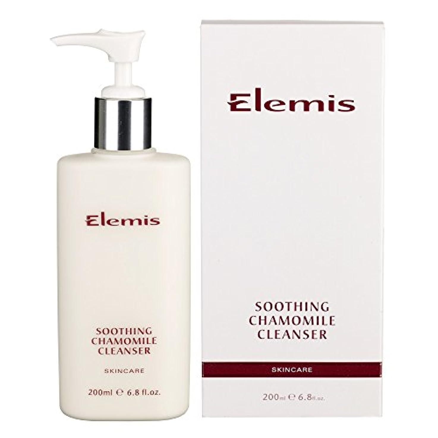 メロン男らしい家庭教師エレミスはカモミールクレンザーをなだめるスキンケア (Elemis) (x6) - Elemis Skincare Soothing Chamomile Cleanser (Pack of 6) [並行輸入品]