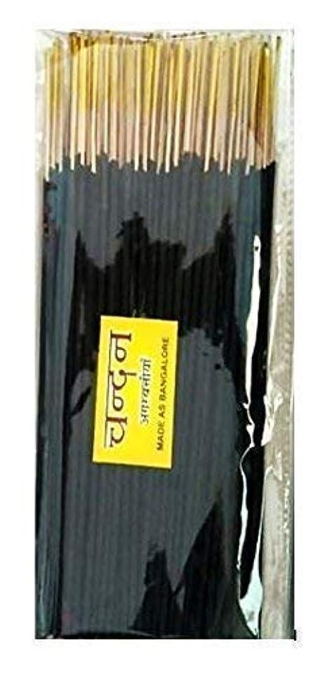 震える援助する自動車Ganga Jamuna Chandan Incense Poojan Samagri Agarbatti Sticks,400 Gm,Black