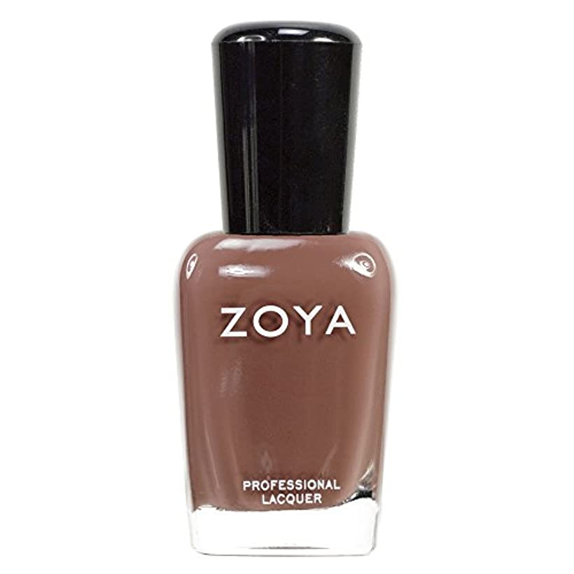 ZOYA ゾーヤ ネイルカラーZP281 DEA デア 15ml 秋にぴったりのライトブラウン マット 爪にやさしいネイルラッカーマニキュア
