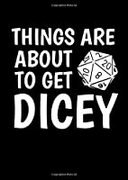 Notebook: Gamer Dice Dungeon Rpg Tabletop Funny Gift 120 Pages, A4 (About 8,5X11 Inches / Letter), Graph Paper