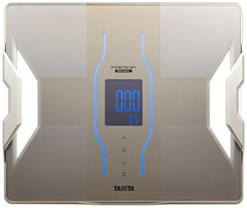 タニタ 体重・体組成計 インナースキャンデュアル スマホ対応 グレイッシュゴールド RD-907‐GD
