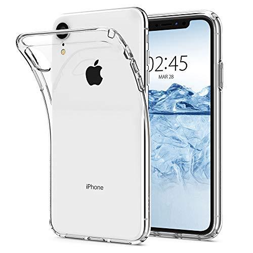 【Spigen】 スマホケース iPhone XR ケース 対応 TPU 超薄型 超軽量 クリア リキッド・クリスタル 064CS24866 (クリスタル ・クリア)