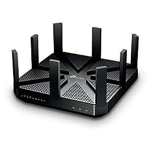 TP-Link WiFi 無線LAN ルーター Archer C5400 11ac ウィルス対策 セキュリティ 2167+2167+1000Mbps トライバンド (利用推奨環境 : 最大64台/4LDK/3階建) 【Amazon Alexa 対応製品】