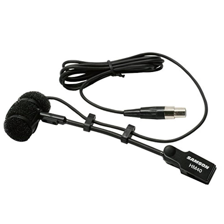 ありがたいバドミントンコンセンサスSAMSON ワイヤレス用 管楽器用クリップオンコンデンサマイク HM40-M