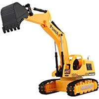 baynne 5 CHリモート制御シミュレーションTractors Excavator Digger with Flash Crawler