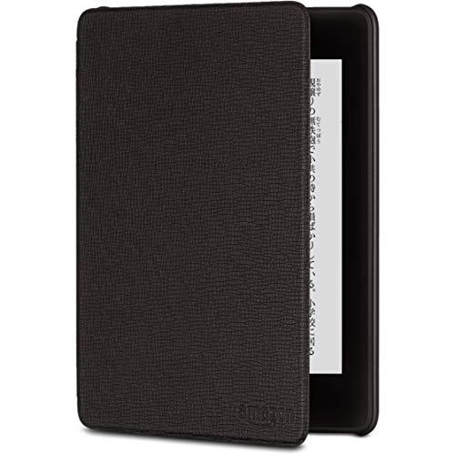 Amazon Kindle Paperwhite (第10世代) 用レザーカバー ブラック
