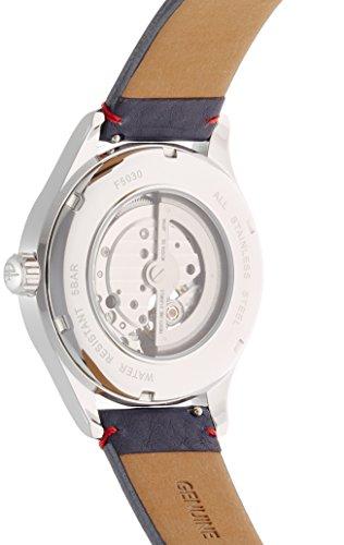 [フルボデザイン]Furbo design 腕時計 【鈴木亮平 カタログ着用モデル】 日本製自動巻ムーヴメント レザーベルト 自動巻き ネイビー文字盤 F5030SBLBL メンズ