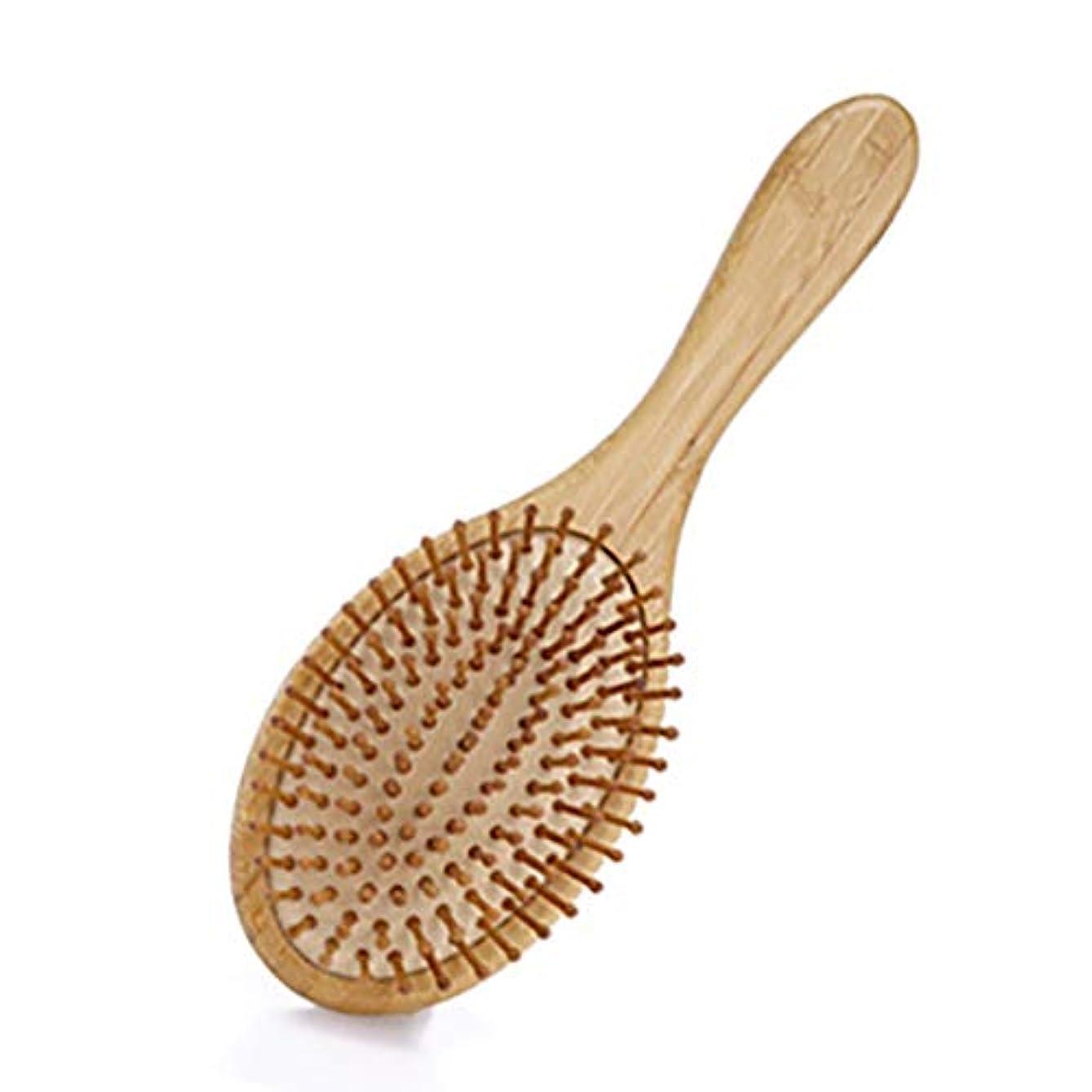信号従者ジレンマMyths ヘアブラシ 竹製櫛 ヘアケア 頭皮マッサージ 静電気防止 パドルブラシ 美髪ケア 頭皮に優しい メンズ レディースに適用