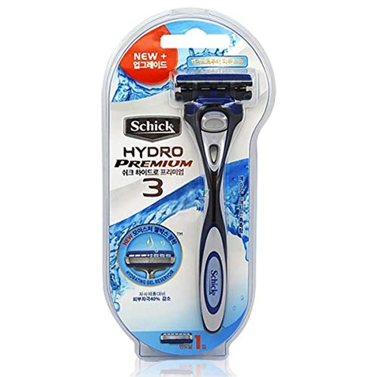 フリンジ測る彫刻Schick Hydro 3 Shaving Razor with 1 カートリッジ [並行輸入品]