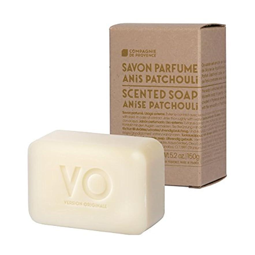 危険にさらされている本質的ではない消化器カンパニードプロバンス バージョンオリジナル センティッドソープ アニスパチュリ(魅惑的なスパイシーハーブの香り) 150g