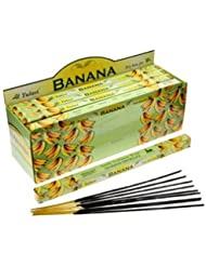 Tulasi Banana Incense, 8 Sticks x 25 Packs