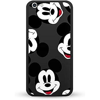 ce9b89de41 iPhone6 iPhone7/8 iPhone6plus iphone8plus/7plus iPhoneX/XSケース 黒い 360°フルカバー ディズニー  ミッキーマウス ミニーマウス キャラクター デザイン ...