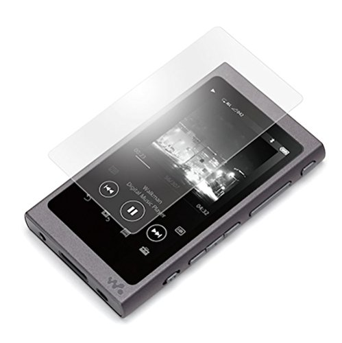 Sony WALKMAN A30 強化ガラスフィルム 3.1インチ(NW-A35/NW-A35HN/NW-A36HN/NW-A37HN対応) 9H硬度 0.3mm超薄型 国産ガラス 耐指紋 撥油性 高透過率 ラウンドエッジ加工(A30)