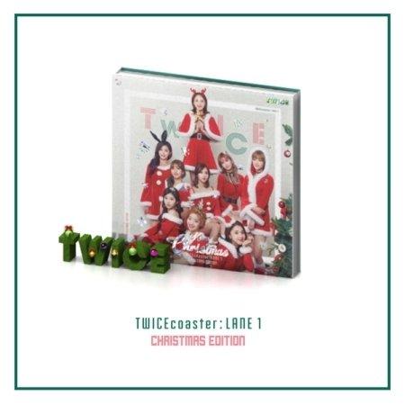 TWICE TWICEcoaster: LANE 1 3rd ミニアルバム CHRISTMAS EDITION ( 韓国盤 )(初回限定特典5点)(韓メディアSHOP限定)の詳細を見る