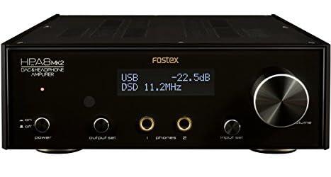 FOSTEXヘッドホンアンプ 32bit D/A変換器内蔵 ハイレゾ対応 HP-A8MK2