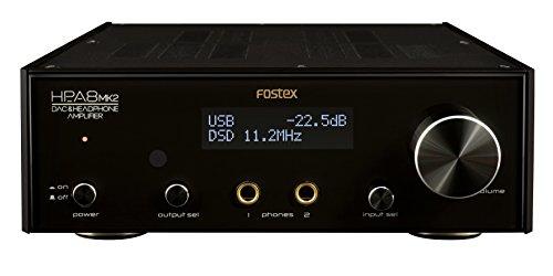 FOSTEX D/Aコンバーター&  ヘッドホンアンプ HP-A8MK2