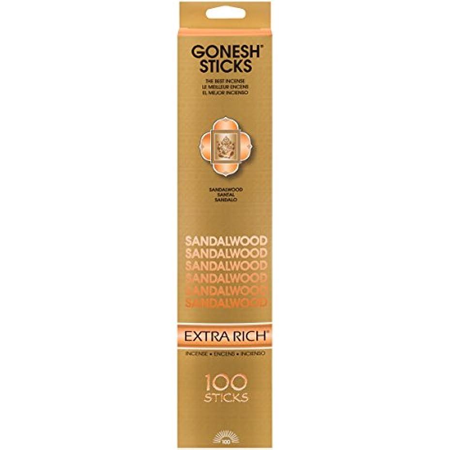 誇りおもちゃメイト(Single 100-Stick Pack) - Sandalwood - 100 STICK PACK - Incense by GONESH