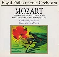 Mozart: Piano Concerto No. 20 in D minor, K. 466 / Piano Concerto No. 27 in B-Flat Major, K. 595 by Mozart