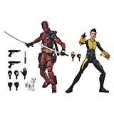 Hasbro Marvel Design and 13 Accessories Legends Series X-Men 6-inch Collectible Deadpool and Negasonic Teenage Warhead Action Figure Toys