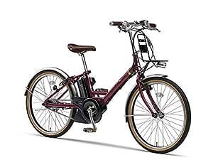 ヤマハ パス 電動自転車 PAS CITY-V PA24CV ルビーレッド ルビーレッド