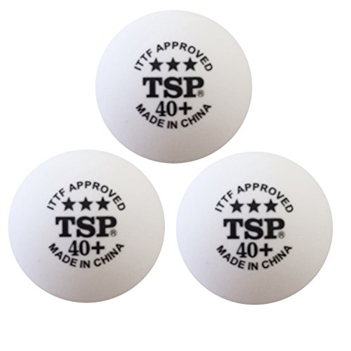 TSP 試合球 40mm 3スターボール 3個り 14035 Men'sLady'sJr