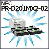 NEC 国内純正インクリボン(交換用)(4個入) PR-D201MX2-02(B) (T)